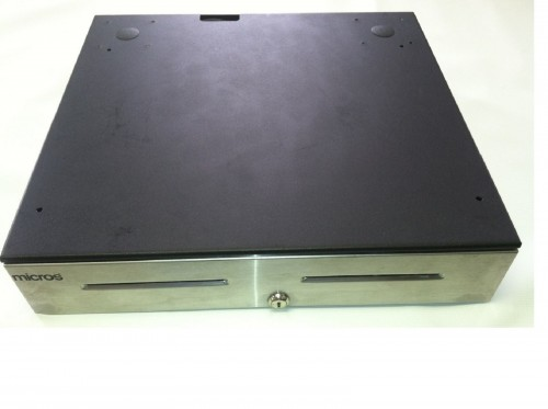 Micros Oracle APG Cash Drawer with Till Insert & 2 Keys.