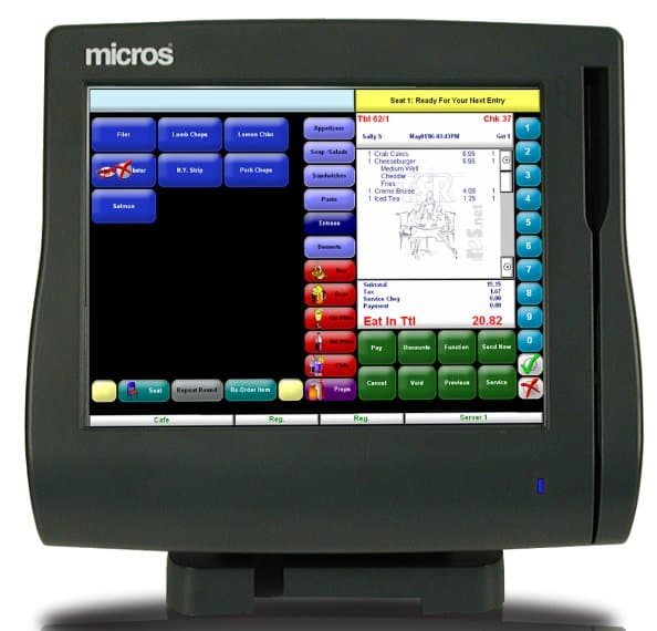 Micros Workstation 4lx Model 400714 001 The Pos Depot