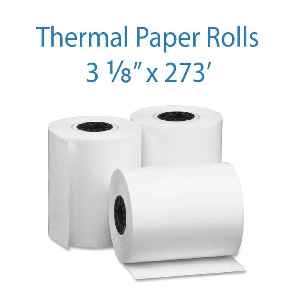 Custom thermal receipt paper