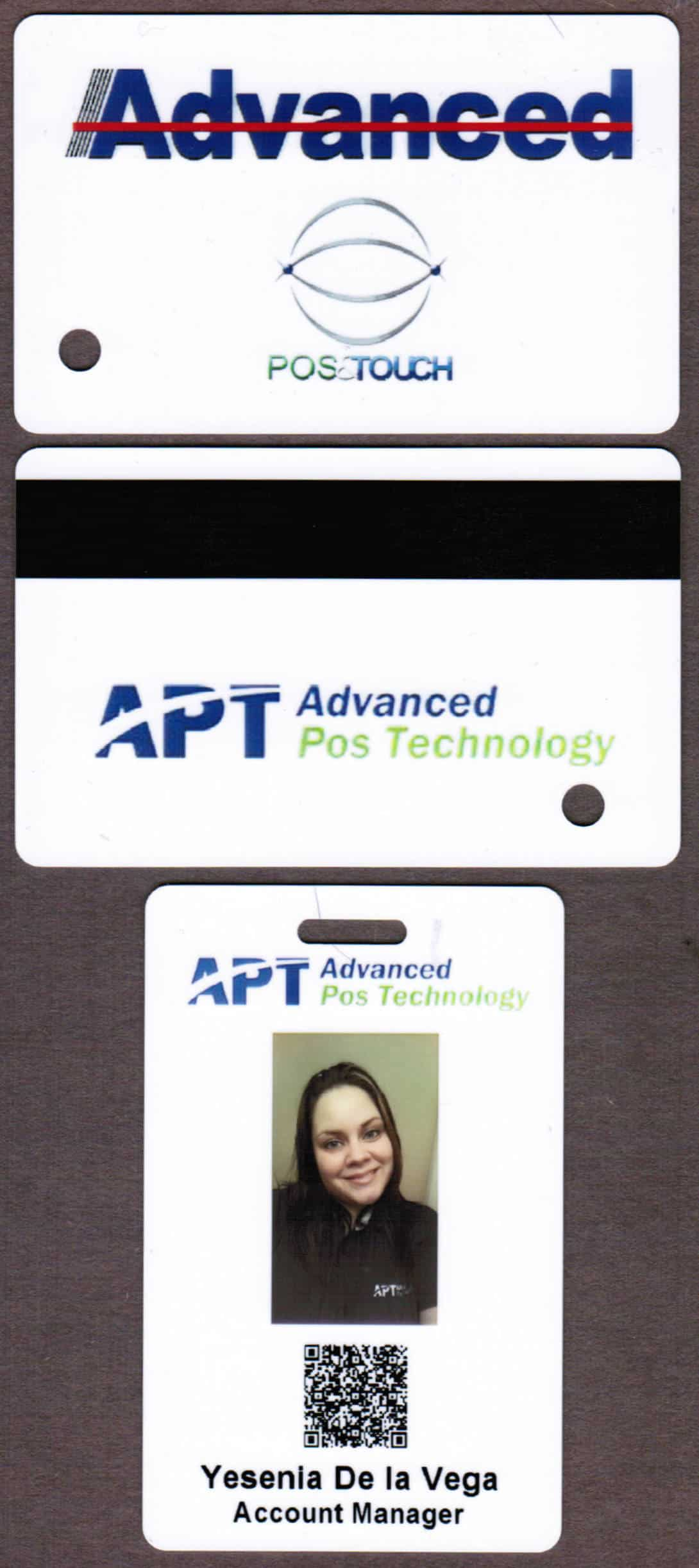 Building Access Cards Employee Photo ID Badge Full Color Print - Employee id badges