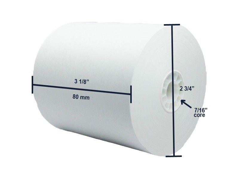 Thermal Paper Rolls 3 18 Quot X 273 50 Rolls Per Case The