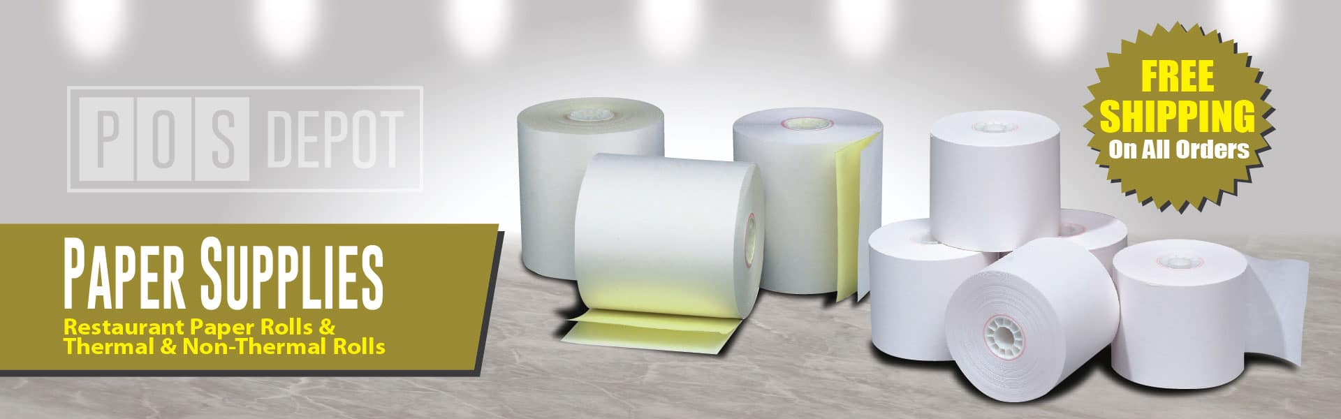 POS-Depot.com™ Point of Sale Paper Rolls