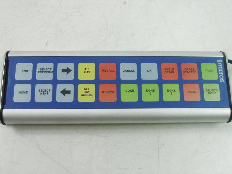 Micros Bump Bar Model Mbb 20 700879 115 Kitchen Display